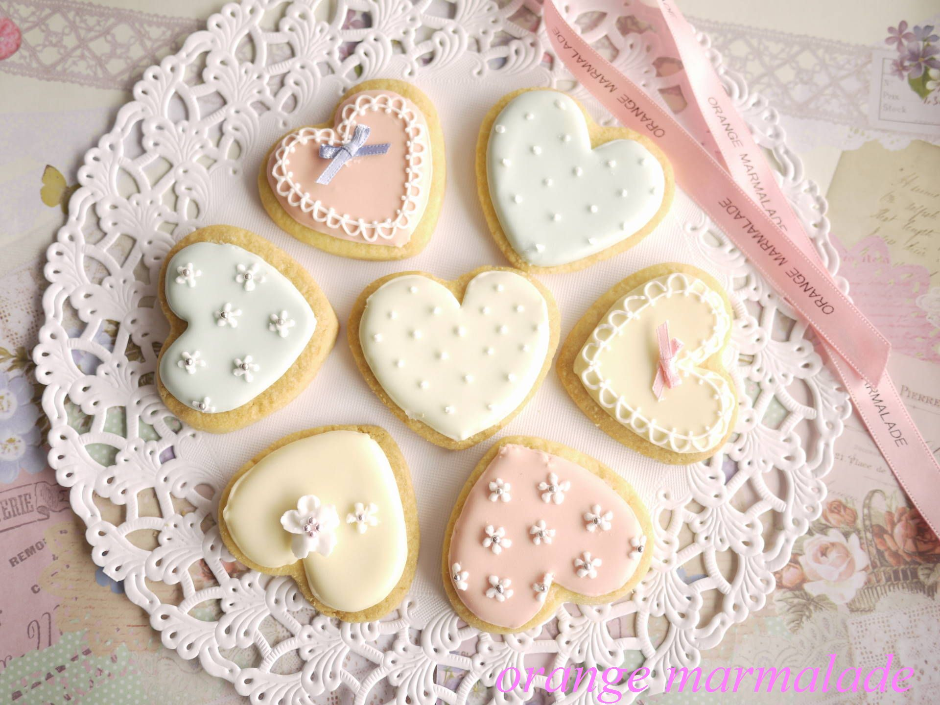 画像 可愛いアイシングクッキースイーツまとめ Naver まとめ
